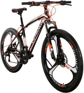 Max4out Mountain Bike 21 Speed with High Carbon Steel Frame