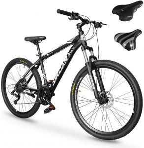 SIRDAR S-900 27 Speed 27.5 inch Mountain Bike Aluminum Alloy and High Carbon Steel